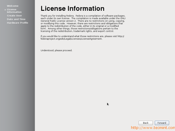 Fedora 17 License Information