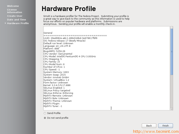 Fedora 17 Hardware Profile Submission