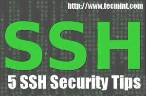 SSH Security Tips