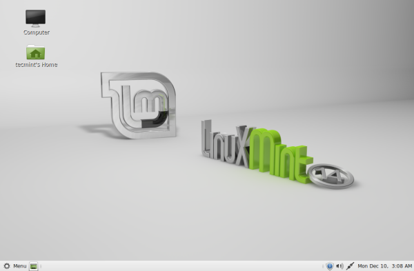 Installation of Linux Mint 14