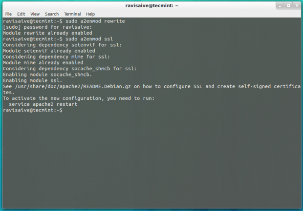 How to enable mod_rewrite on Apache on CentOS