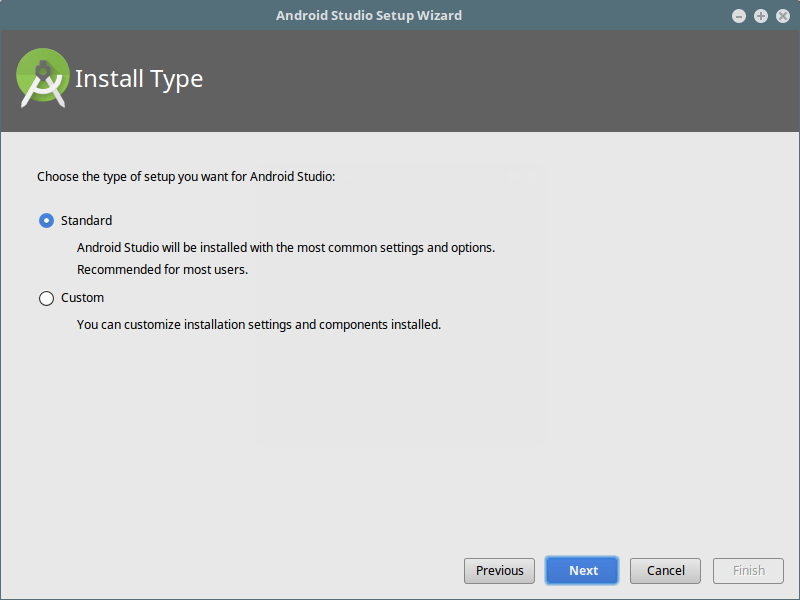 Android Studio安装类型
