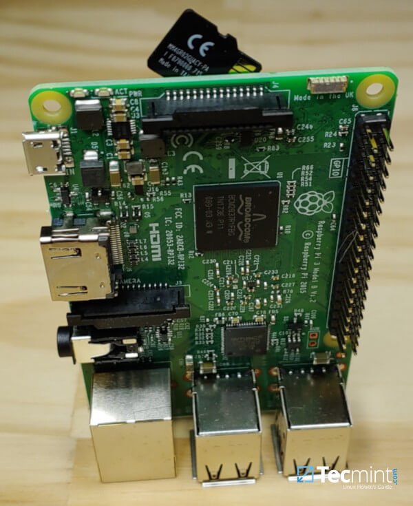Raspberry Pi SD卡socket