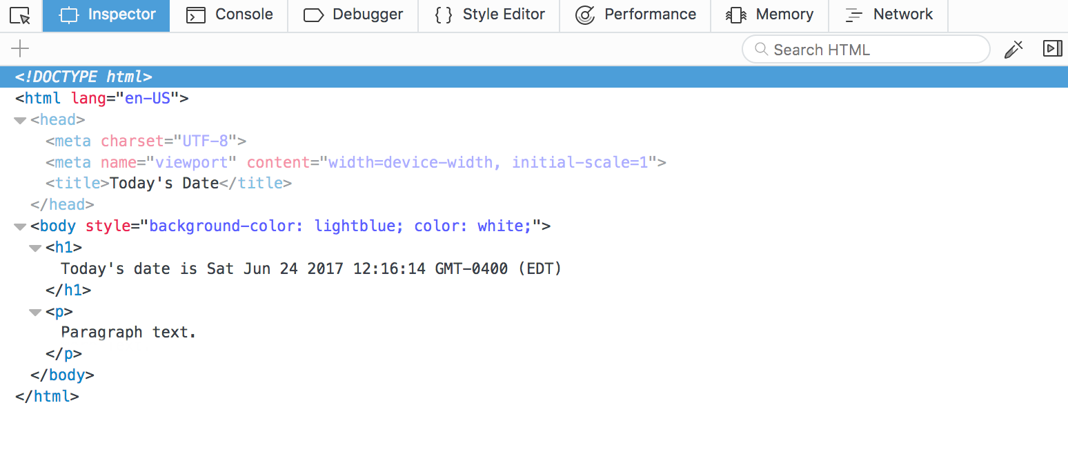 How to change background colour in javascript
