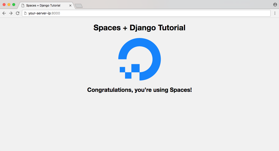 DigitalOcean Spaces Django示例应用程序